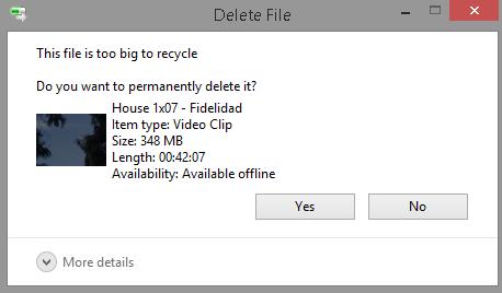 recuperar un documento borrado