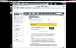 virus de correos