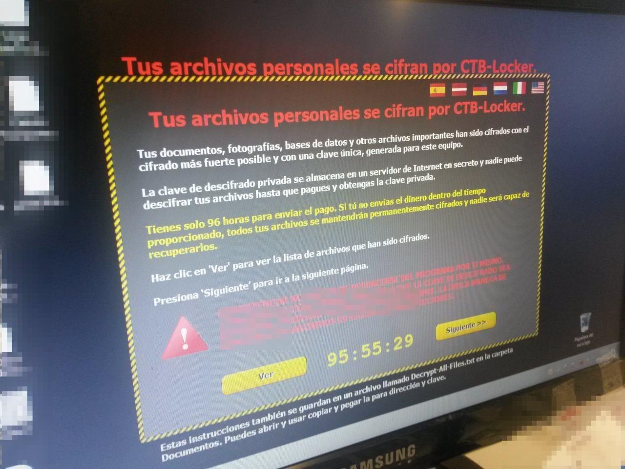 virus de correos cryptolocker