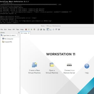 VMware Workstation 11 y Debian testing
