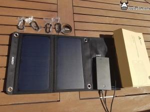 cargador solar USB Aukey PB-P3