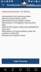 Yi Dash Cam actualizacion de firmware