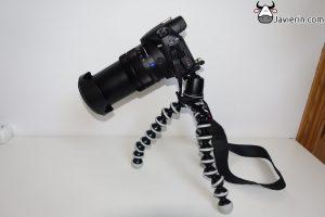 Gorillapod SLR Zoom con Ballhead