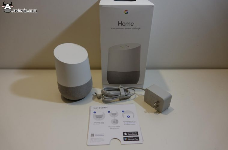 review del google home en español