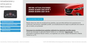 navegador Mazda MZD Connect