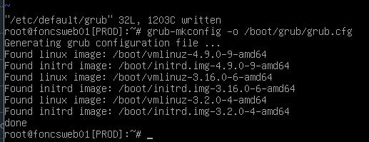 nombres de interfaz de red en debian